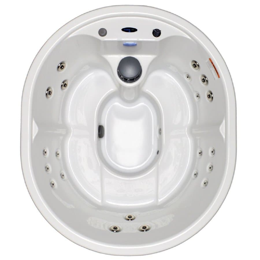 Shop Hudson Bay Spas 5-Person Oval Hot Tub at Lowes.com