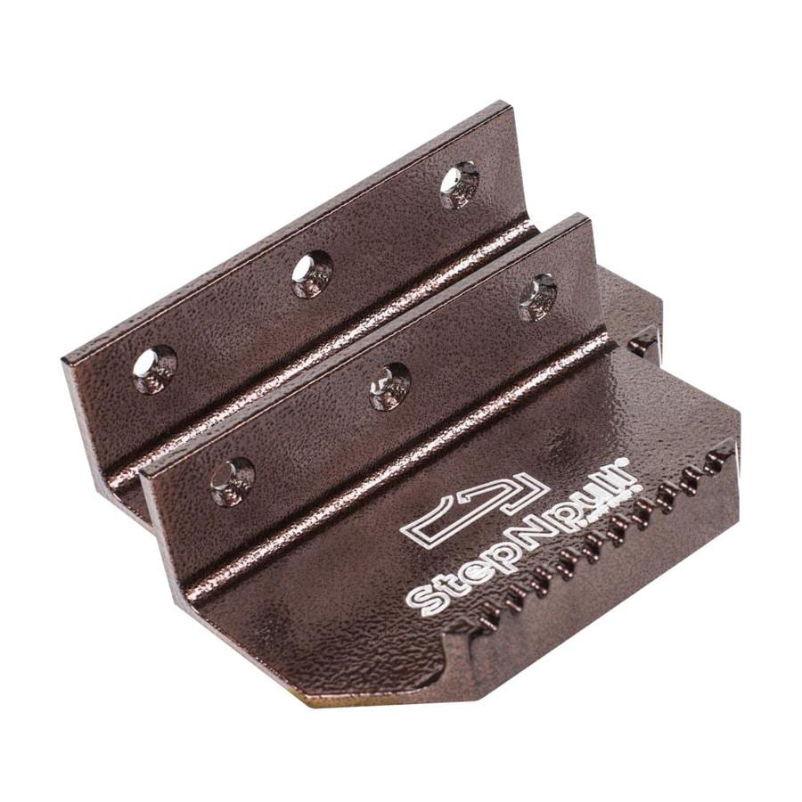 StepNpull 5-in x 1.5-in Copper Entry Door Pull Plate