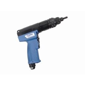 how to use a pneumatic rivet gun
