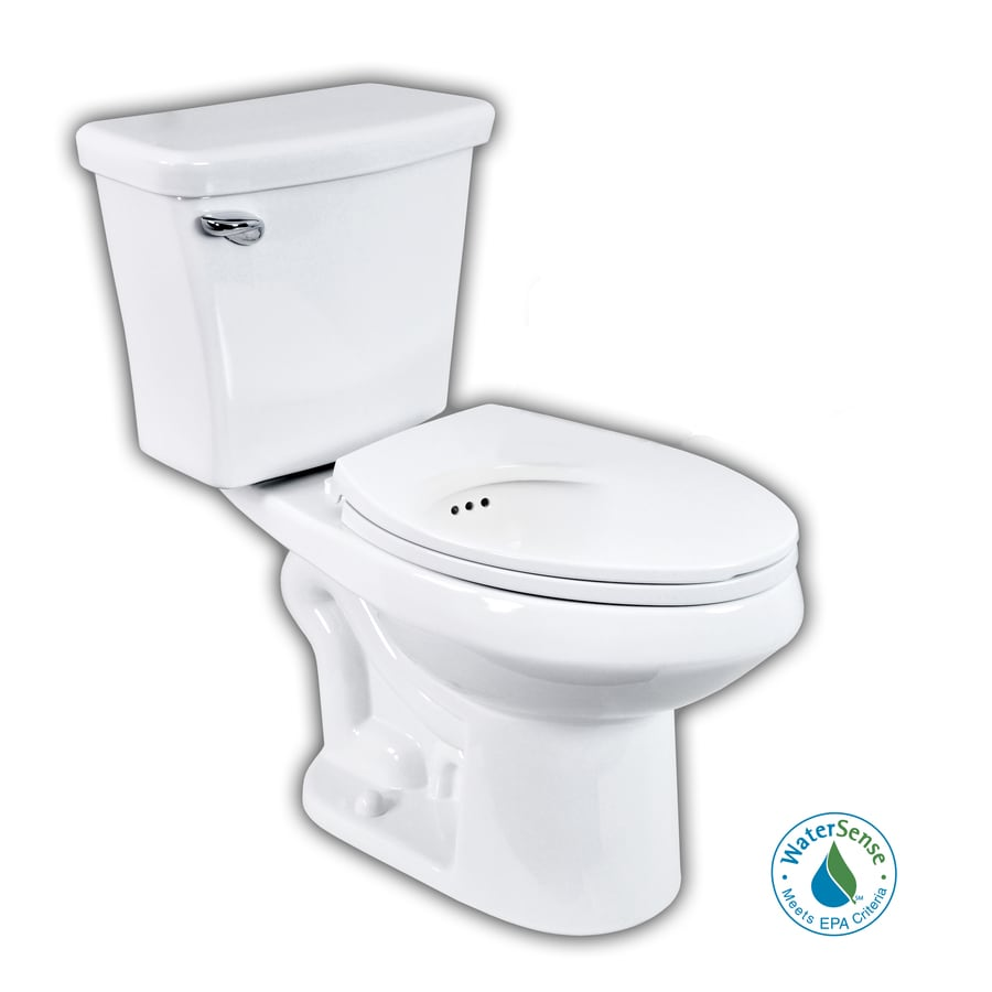 Shop Penguin Toilets White 1.6; 1.1-GPF 12-in Rough-in WaterSense ...