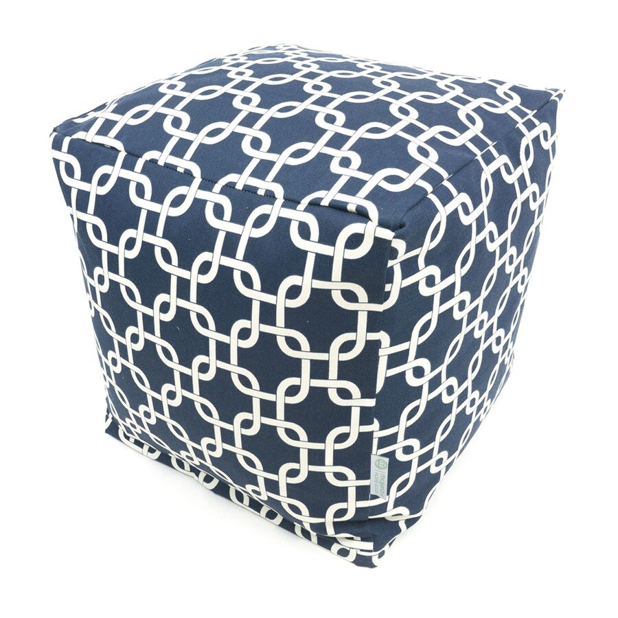 Majestic Home Goods Navy Blue Bean Bag Chair