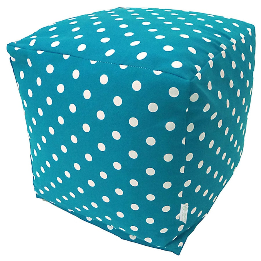 Majestic Home Goods Ocean Small Polka Dot Bean Bag Chair