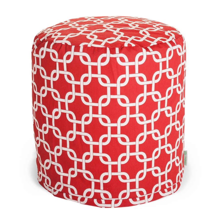 Majestic Home Goods Red Bean Bag Chair