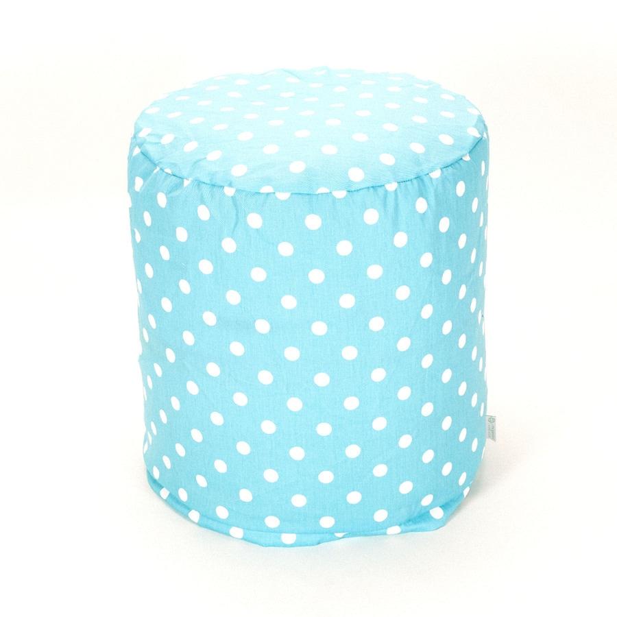Majestic Home Goods Aquamarine Small Polka Dot Bean Bag Chair