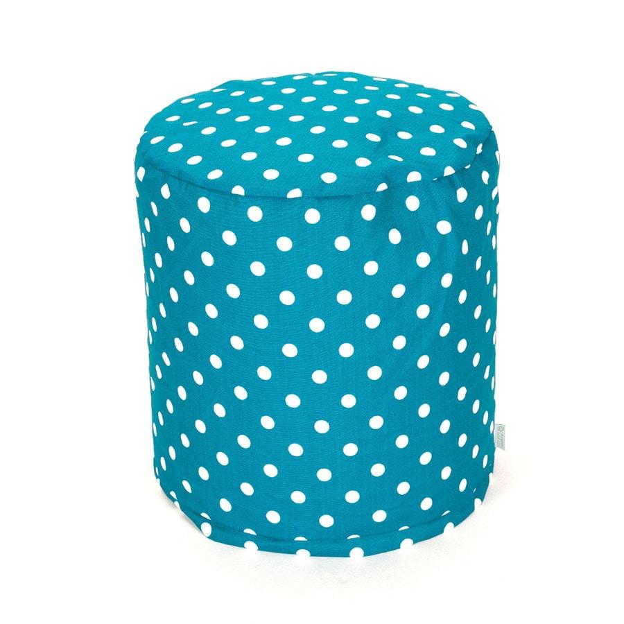 Majestic Home Goods Ocean Small Polka Dot Bean Bag Chair