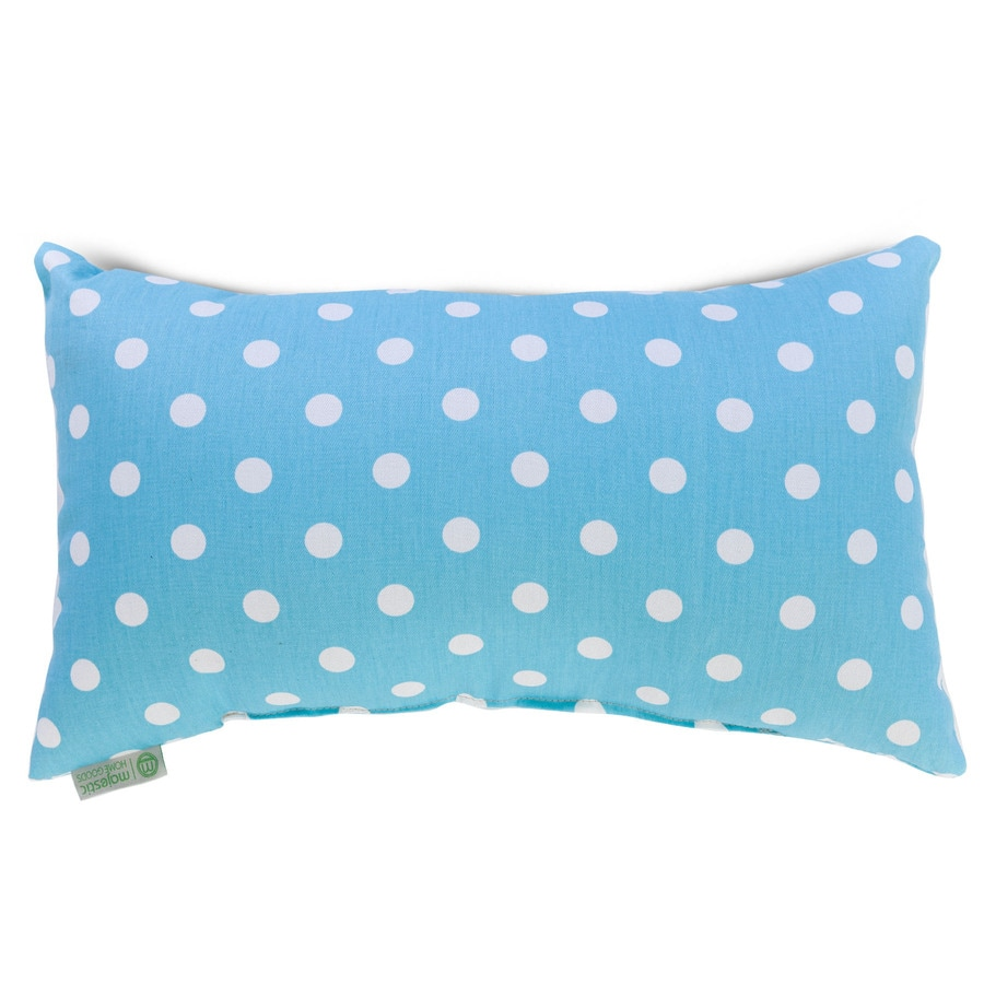 Home goods decorative pillow - Majestic Home Goods 12 In W X 20 In L Aquamarine Indoor Decorative Pillow