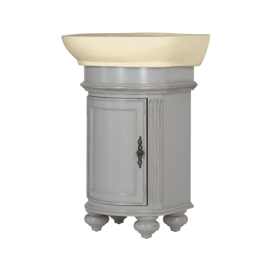 Westport Bay Keeneland Undermount Single Sink Bathroom Vanity with Wood Top (Common: 19-in x 24-in; Actual: 19-in x 22-in)