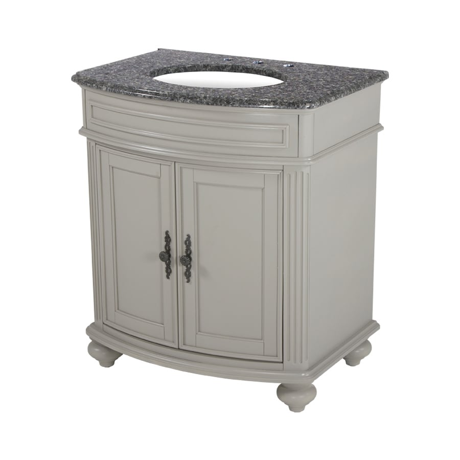 Shop Westport Bay Keeneland Undermount Double Sink Bathroom Vanity With Granite Top Common 31