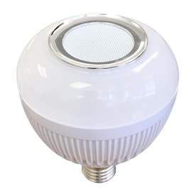 Blue Sky WIRELESS Bluetooth Built In Speaker Sync up to 12 65-Watt EQ BR30 Warm White Dimmable Globe Bulb Light Bulb