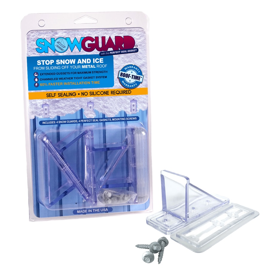 Snow Guard 4-Mini 1.5-in x 4-in Polycarbonate Roof Cleat Snow Guard