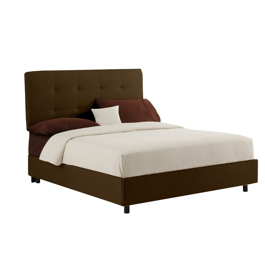 Skyline Furniture Sheridan Chocolate Queen Upholstered Bed