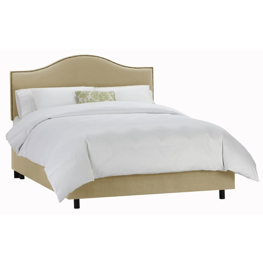 Skyline Furniture Armitage Buckwheat Queen Upholstered Bed