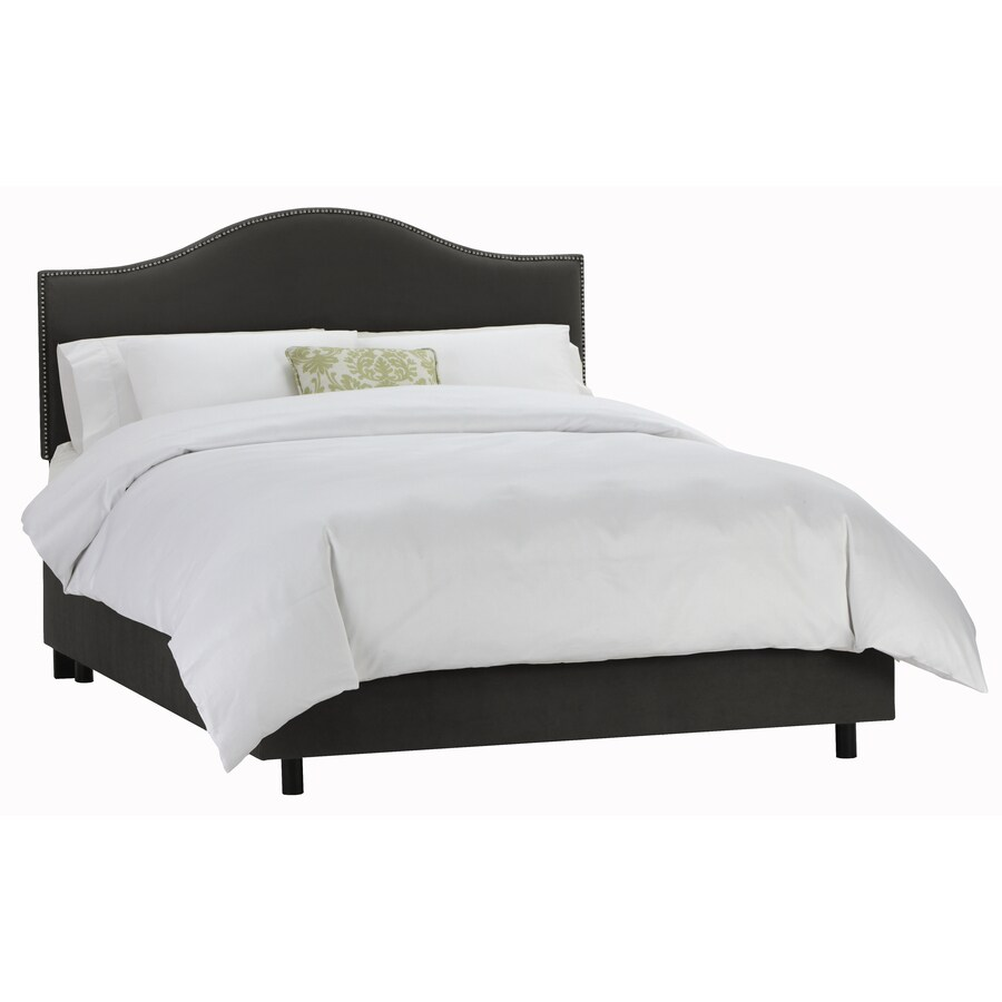 Skyline Furniture Armitage Black Twin Upholstered Bed