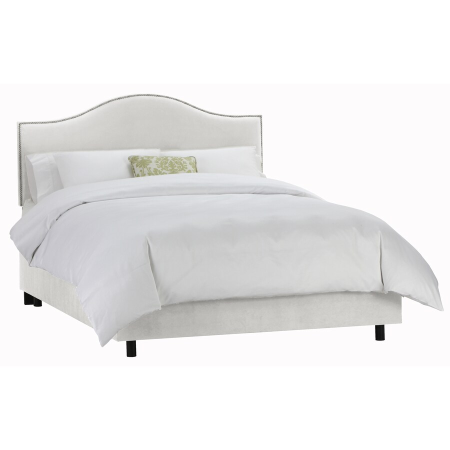 Skyline Furniture Armitage White Full Upholstered Bed