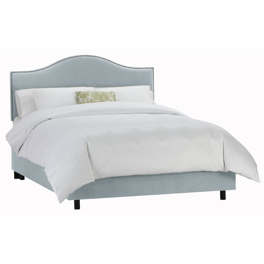 Shop Skyline Furniture Armitage Pool Twin Upholstered Bed At