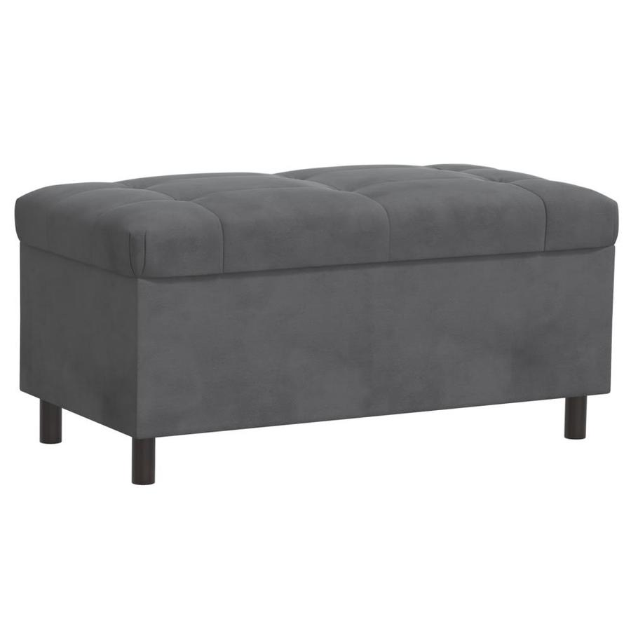 Skyline Furniture Sheridan Charcoal Indoor Accent Bench