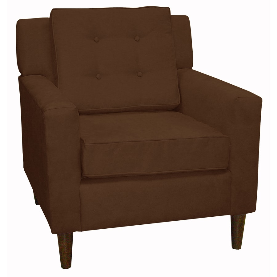 Skyline Furniture Sheridan Collection Modern Chocolate Accent Chair