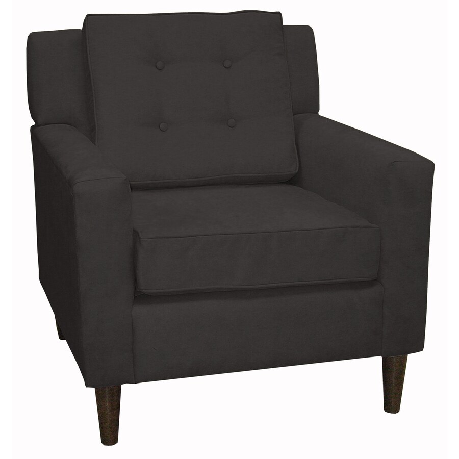 Skyline Furniture Sheridan Collection Modern Black Accent Chair