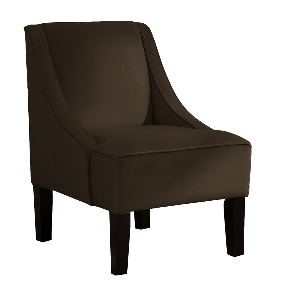 Skyline Furniture Diversey Collection Chocolate Accent Chair