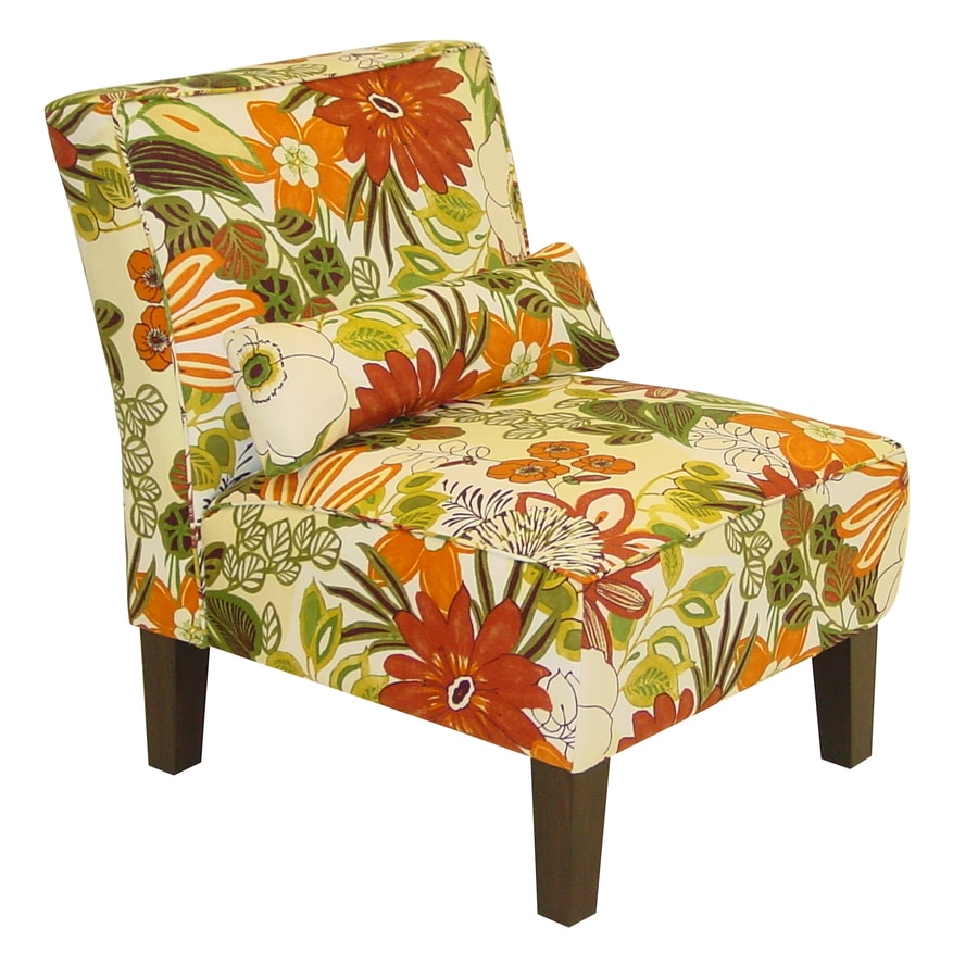 Skyline Furniture Clark Collection Marigold Polyester Accent Chair