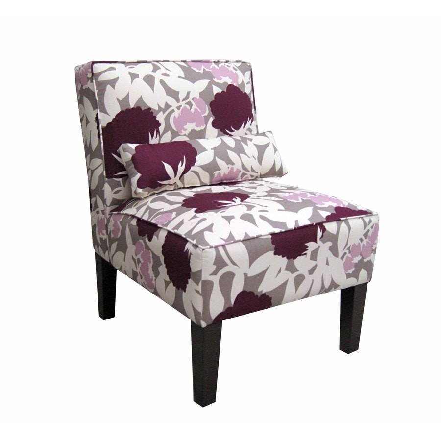 Superbe Skyline Furniture Clark Collection Plum Accent Chair