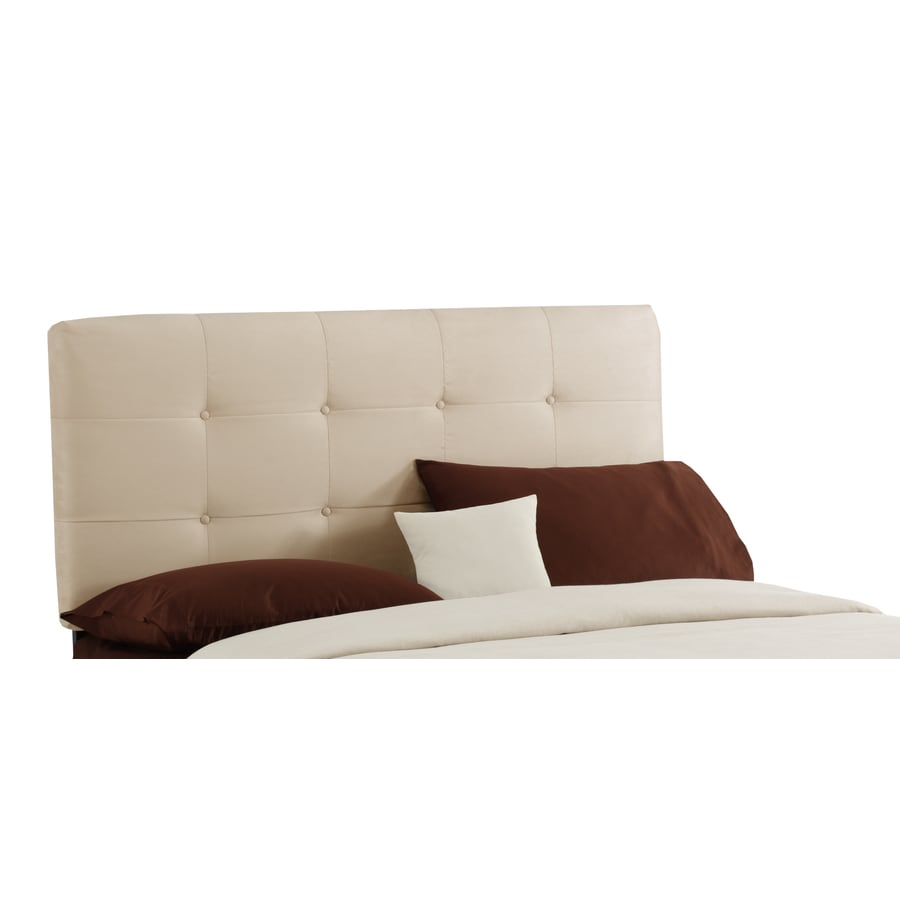 Skyline Furniture Sheridan Collection Oatmeal Queen Microsuede Headboard