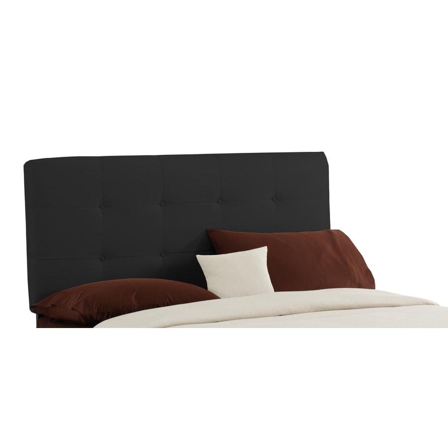 Skyline Furniture Sheridan Black Full Microsuede Headboard