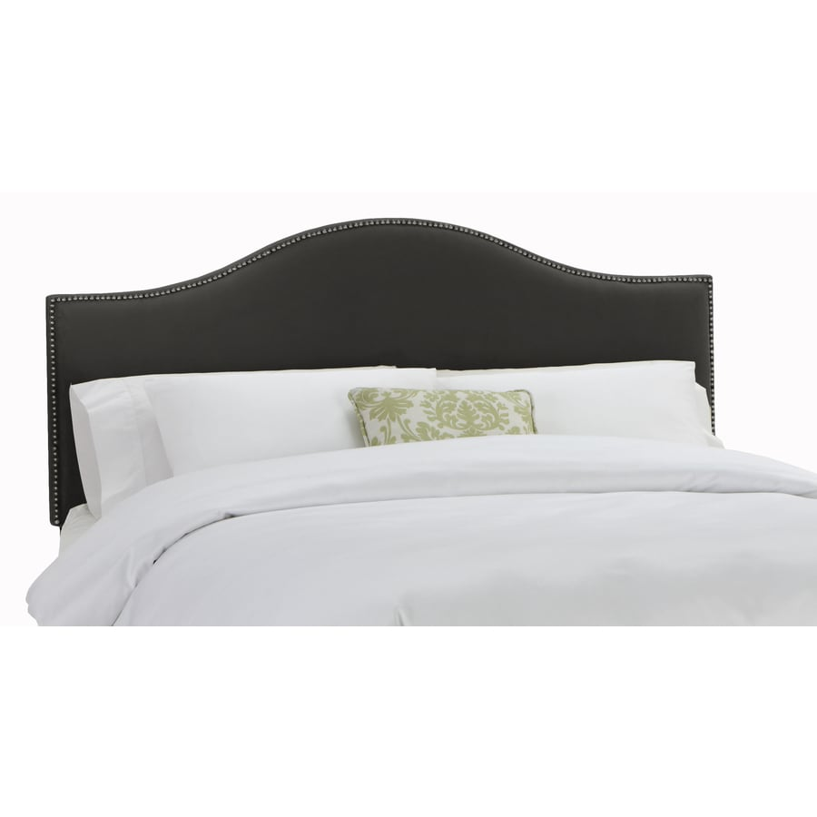 Skyline Furniture Armitage Black Queen Velvet Headboard