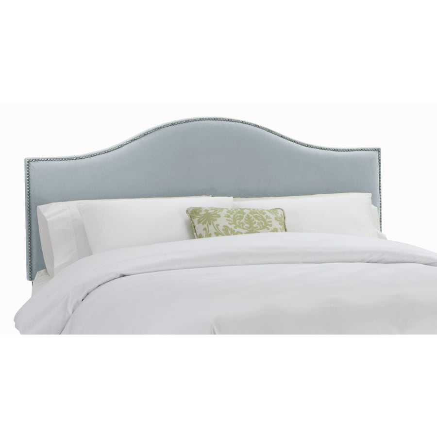 Skyline Furniture Armitage Collection Pool Twin Velvet Headboard