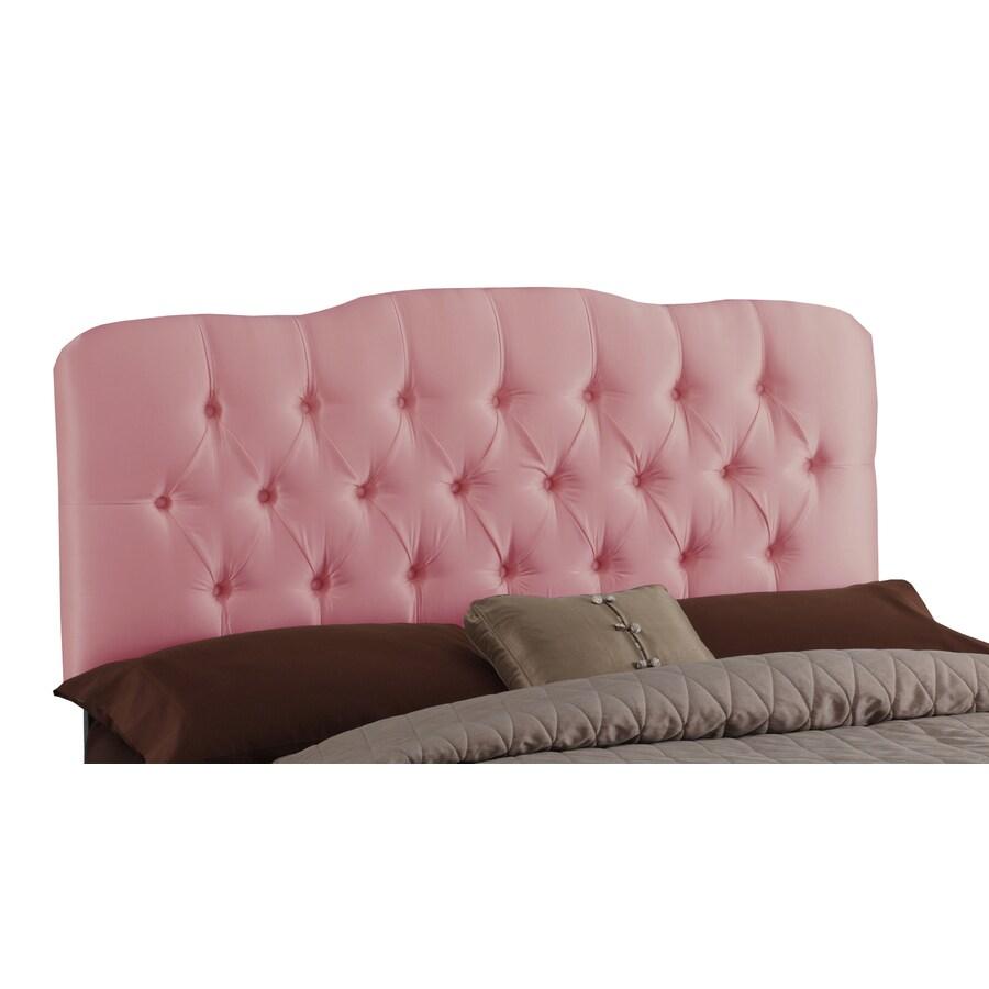 Skyline Furniture Quincy Woodrose Queen Textured Cotton Headboard