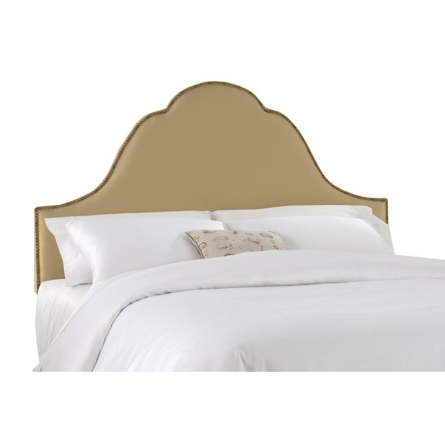 Skyline Furniture Clybourn Linen California King Textured Cotton Headboard