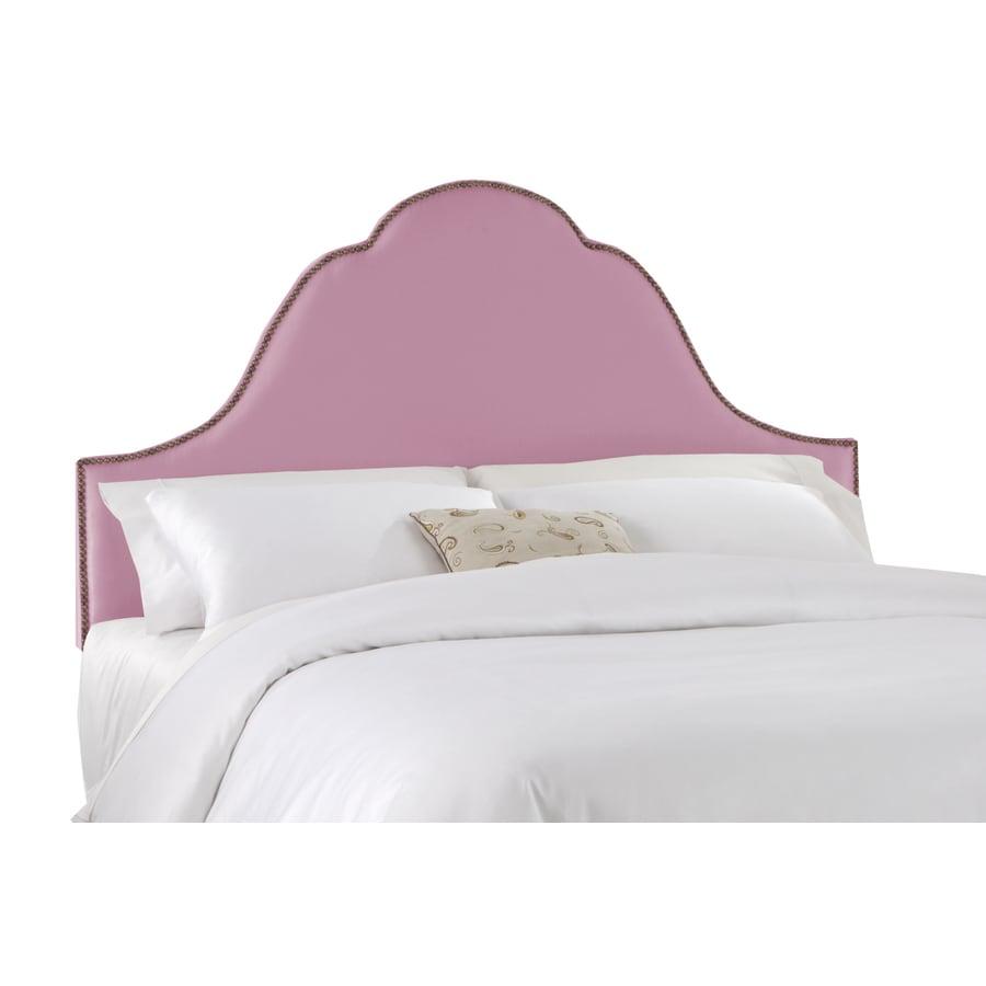 Skyline Furniture Clybourn Woodrose Full Textured Cotton Headboard