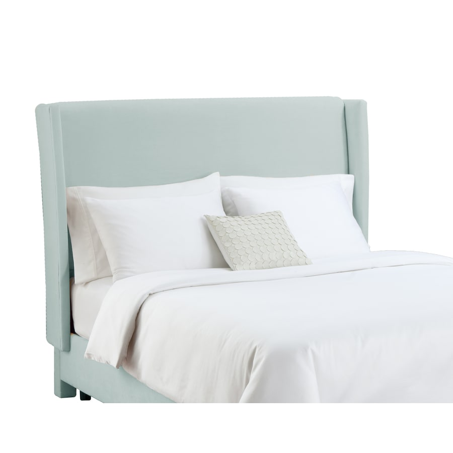 Skyline Furniture Diversey Pool Queen Velvet Headboard