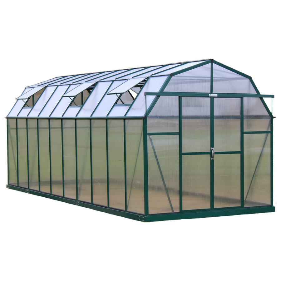 Grandio Greenhouses 20-ft L x 8-ft W x 8-ft H Greenhouse