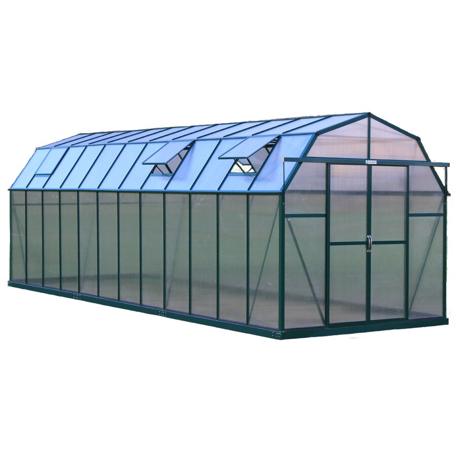 Grandio Greenhouses 24-ft L x 8-ft W x 8-ft H Greenhouse