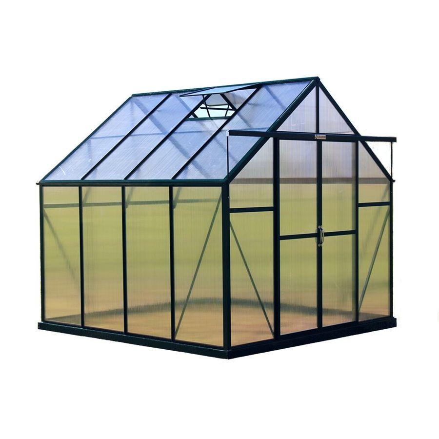 Grandio Greenhouses 8-ft L x 8-ft W x 7.75-ft H Greenhouse