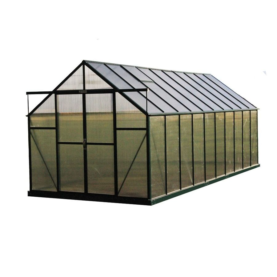 Grandio Greenhouses 20-ft L x 8-ft W x 7.75-ft H Greenhouse