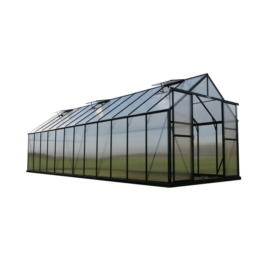 Grandio Greenhouses 24-ft L x 8-ft W x 7.75-ft H Greenhouse
