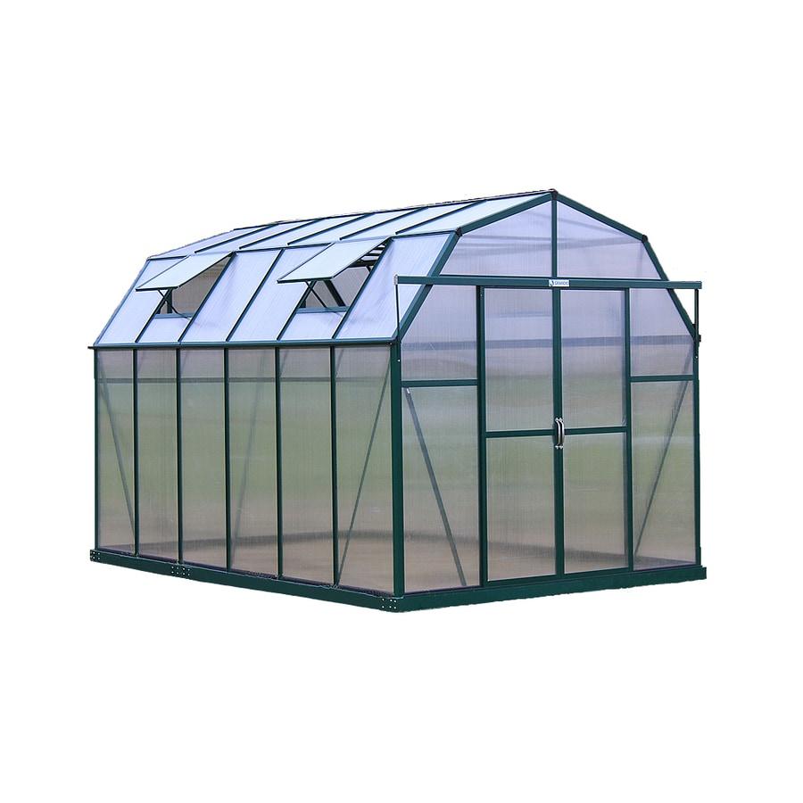 Grandio Greenhouses 12-ft L x 8-ft W x 8-ft H Permanent Greenhouse