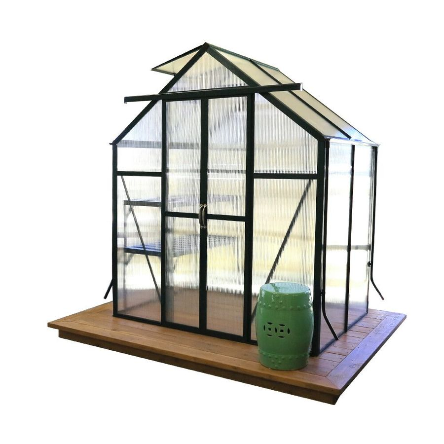 Grandio Greenhouses 4-ft L x 6-ft W x 7-ft H Greenhouse