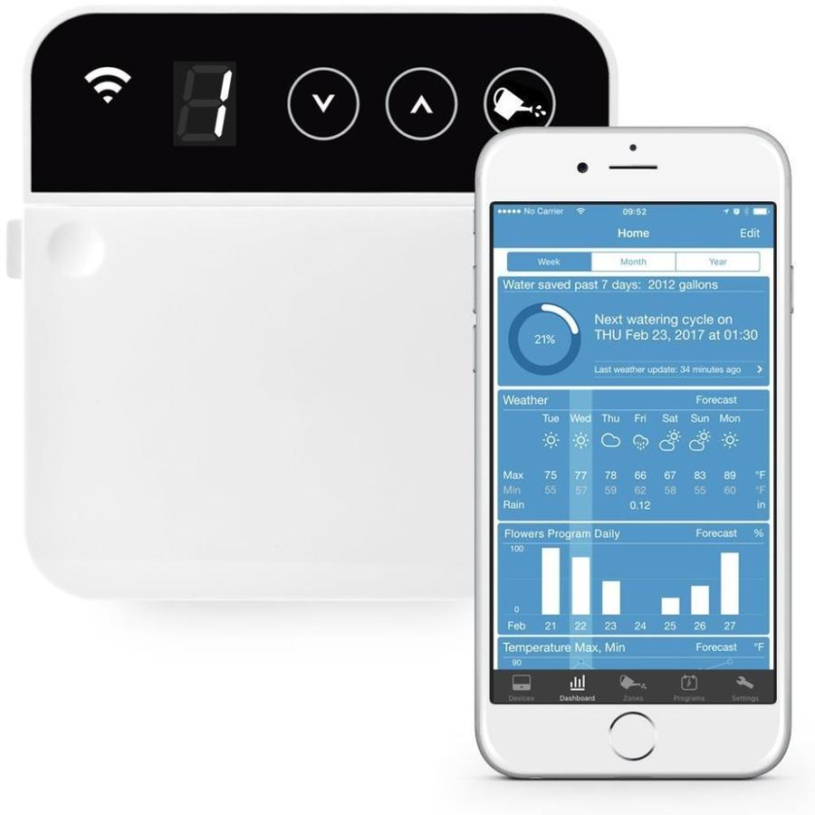 RainMachine 8-Station Built-in Wifi Indoor Irrigation Timer