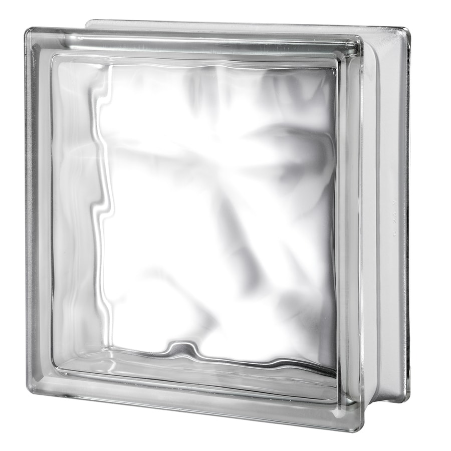 Glass blocks for crafts pre drilled - Seves Glass Block 4 Inch Glass Block Common 12 In H X