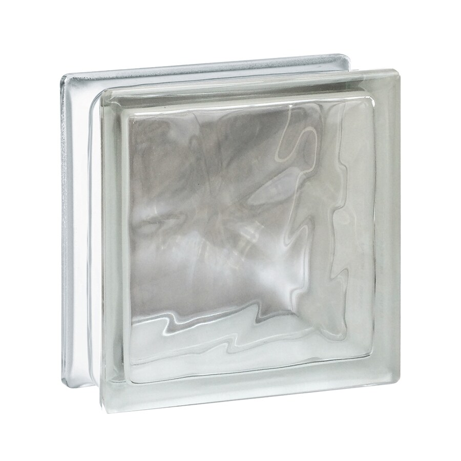 REDI2SET 10-Pack Glass Block (Common: 6-in H x 6-in W x 3-in D; Actual: 5.75-in H x 5.75-in W x 3.12-in D)