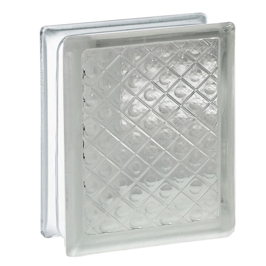 REDI2SET 10-Pack Glass Block (Common: 8-in H x 6-in W x 3-in D; Actual: 7.75-in H x 5.75-in W x 3.12-in D)