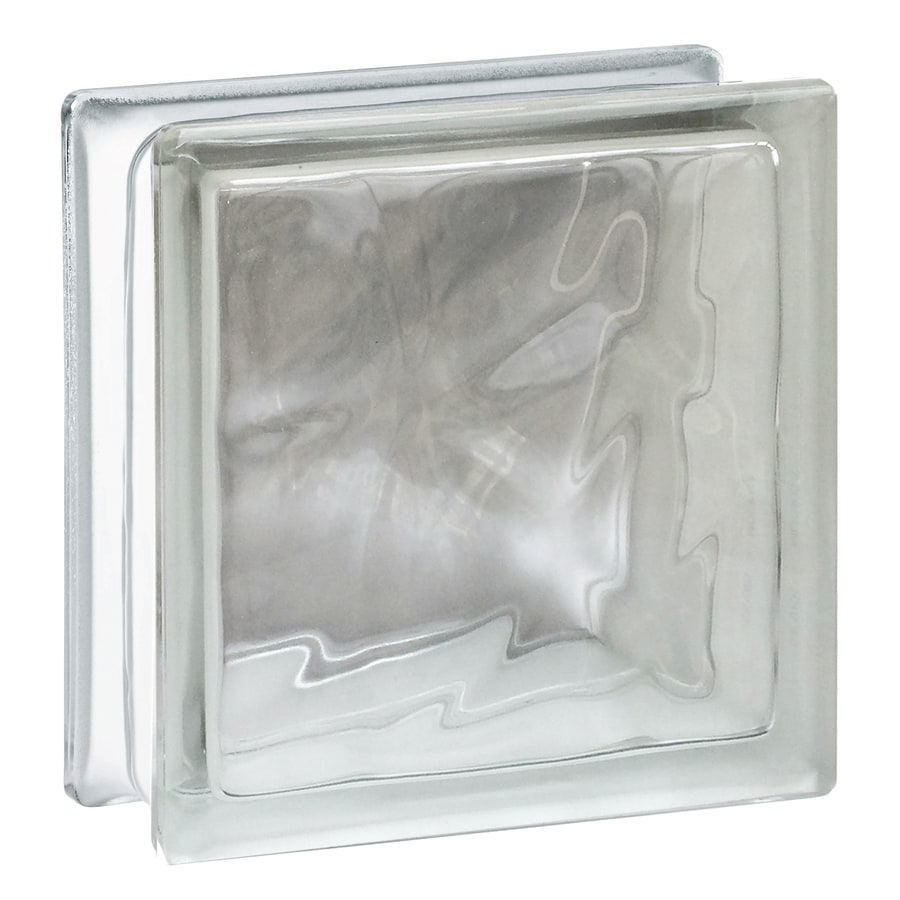Shop Redi2set Clear Wave Glass Block Common 8 In H X 8