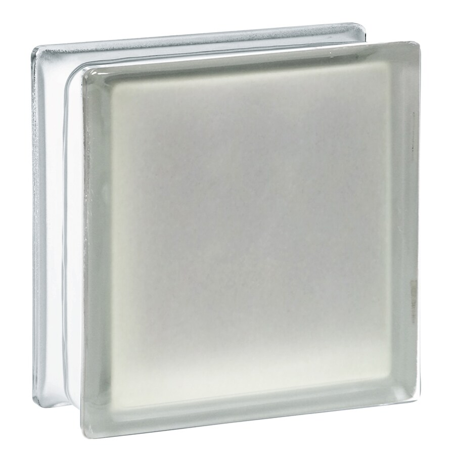 REDI2SET 10-Pack Glass Block (Common: 8-in H x 8-in W x 3-in D; Actual: 7.75-in H x 7.75-in W x 3.12-in D)