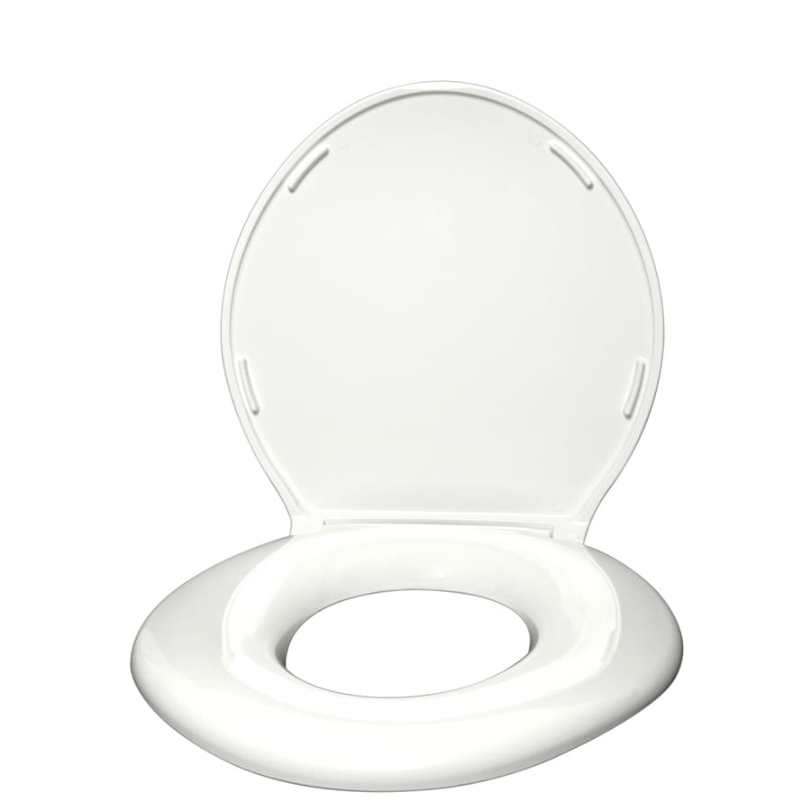 Big John Products Plastic Round Toilet Seat