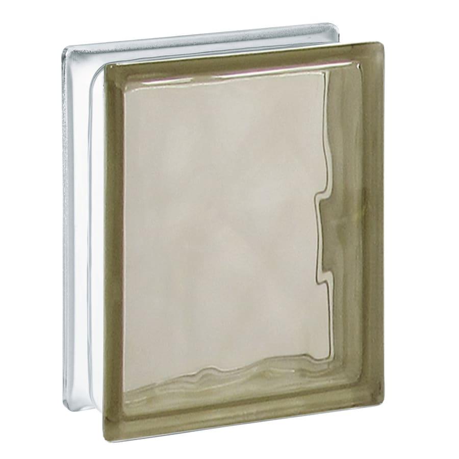 REDI2SET 10-Pack Glass Block (Common: 8-in H x 6-in W x 3-in D; Actual: 7.7500-in H x 5.7500-in W x 3.1200-in D)