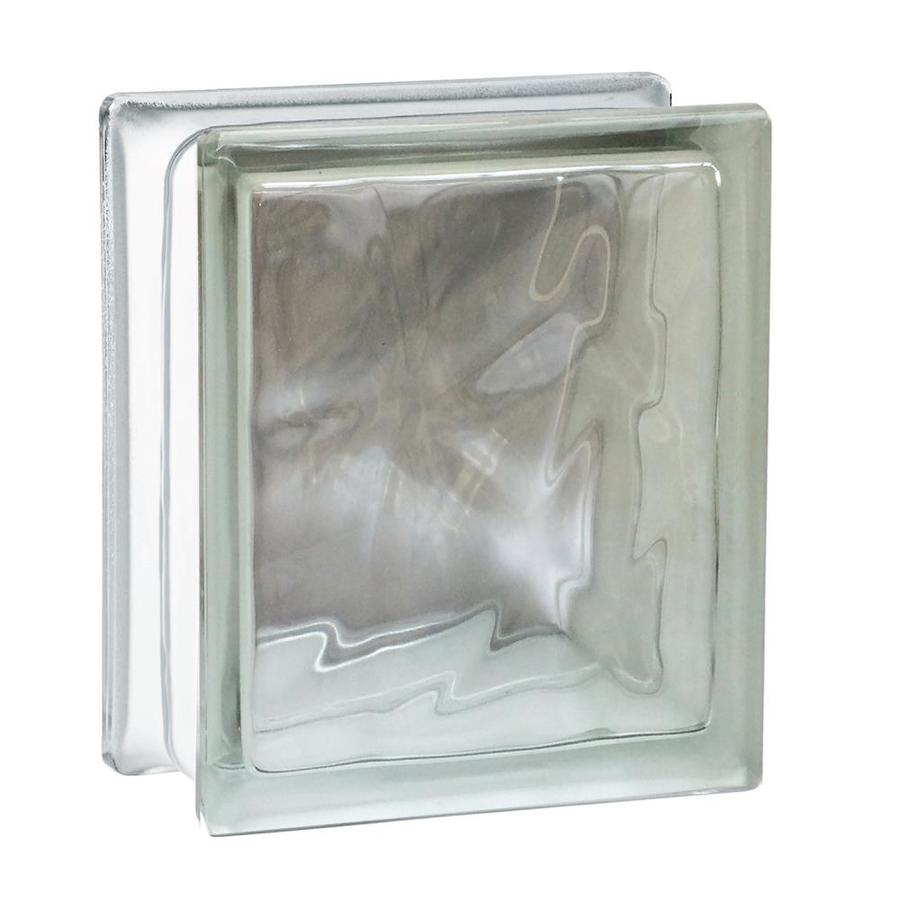 SEVES Glass Block Glass Block (Common: 8-in H x 6-in W x 4-in D; Actual: 7.75-in H x 5.75-in W x 3.875-in D)