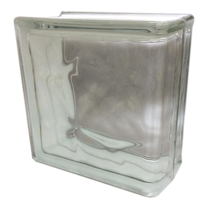 Shop Seves Glass Block Glass Block Common 8 In H X 8 In